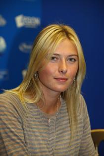 Maria at pressconference Birmingham
