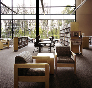 Photo by Michael Mathers Clackamas High School in Oregon, built in 2002, was the first LEED-certified high school in the country.
