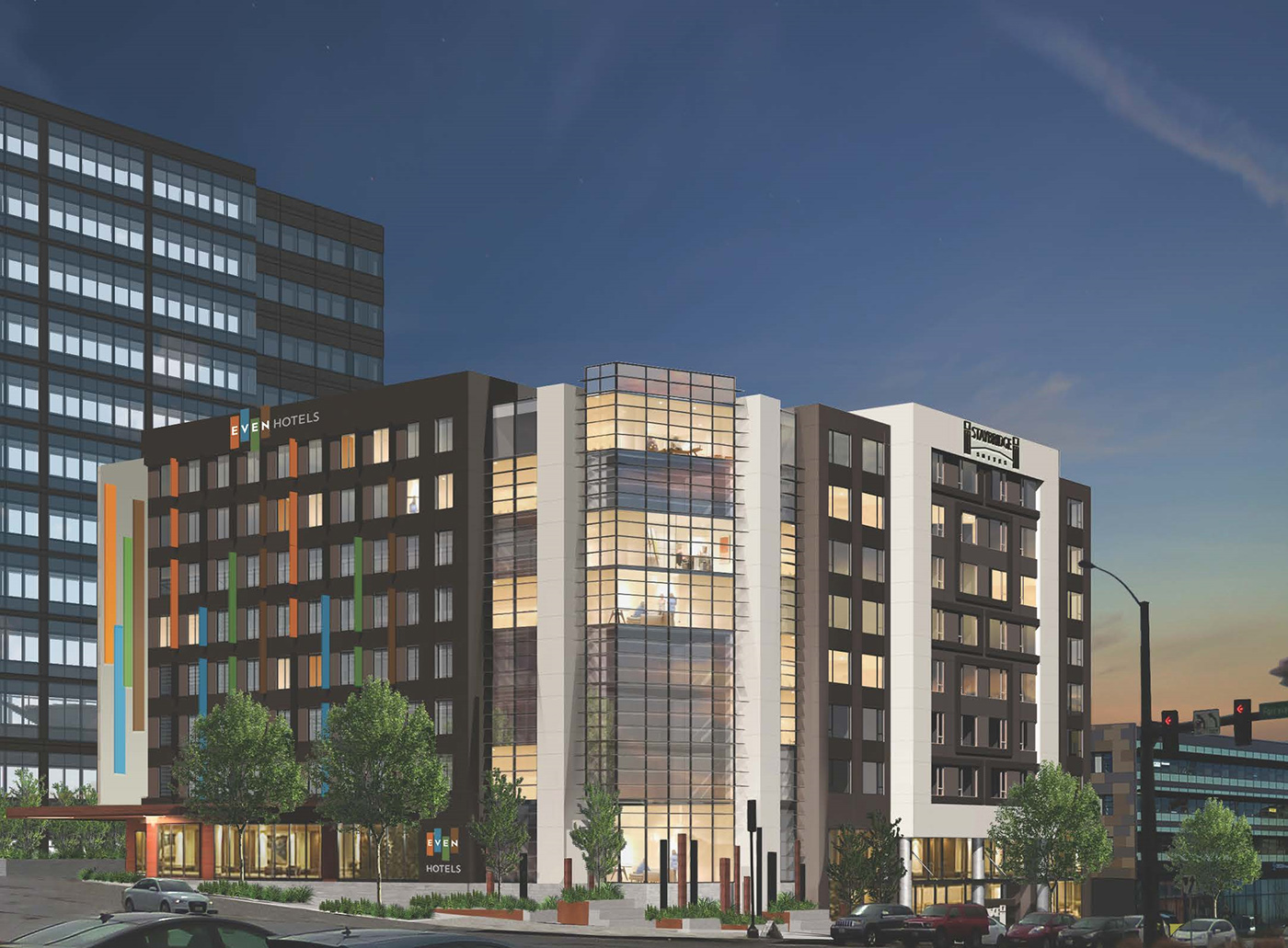 Seattle DJCcom local business news and data  Real Estate  IHG Noble partner on Mercer and