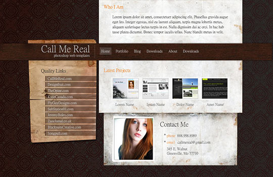 50+ High-Quality Free PSD Web Templates 6