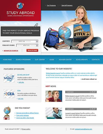 50+ High-Quality Free PSD Web Templates 9