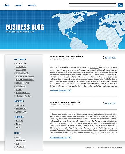 50+ High-Quality Free PSD Web Templates 15