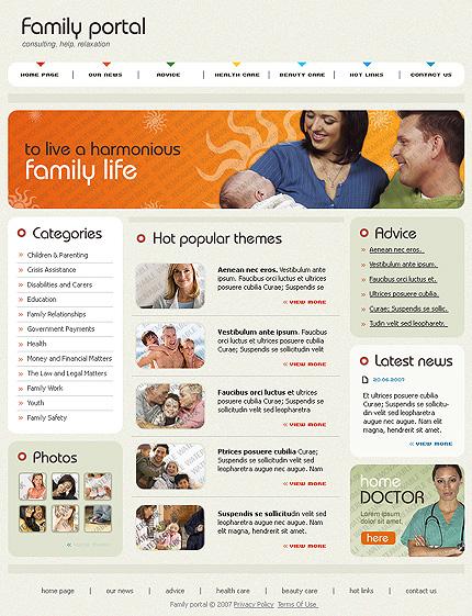 50+ High-Quality Free PSD Web Templates 22