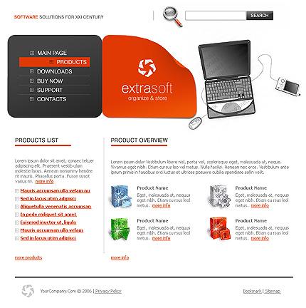50+ High-Quality Free PSD Web Templates 24