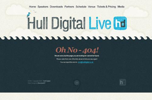 35+ Creative 404 Error Page Designs 3