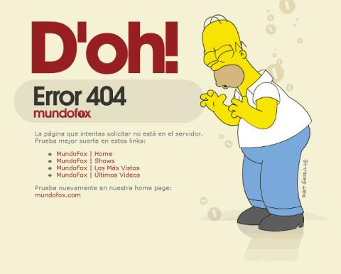35+ Creative 404 Error Page Designs 6