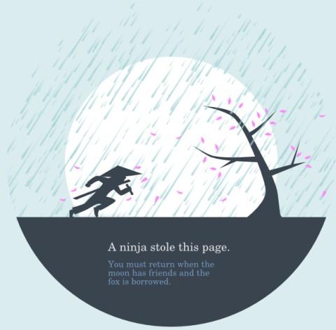 35+ Creative 404 Error Page Designs 7