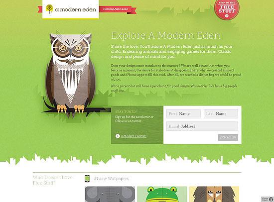 30+ Beautiful DIV/CSS Web Designs 14