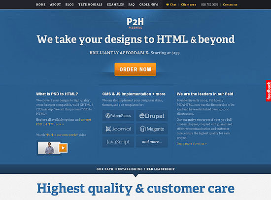 30+ Beautiful DIV/CSS Web Designs 15