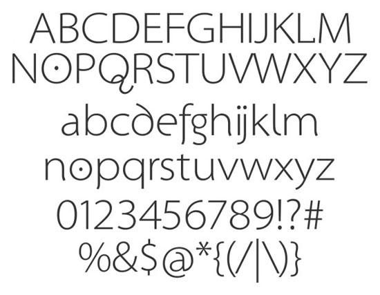 28 High Quality Fresh Free Fonts 19