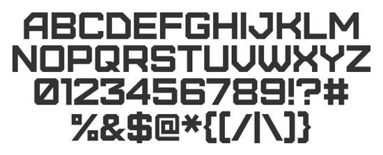 28 High Quality Fresh Free Fonts 20