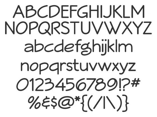 28 High Quality Fresh Free Fonts 7