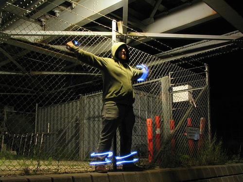 40+ Awesome Light Graffiti Pictures 9