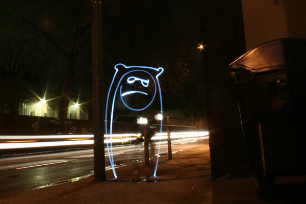 40+ Awesome Light Graffiti Pictures 16