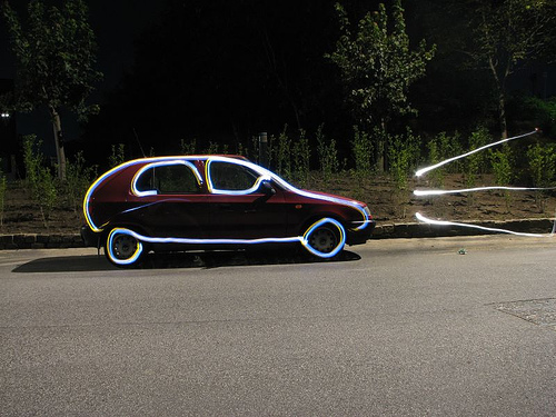 40+ Awesome Light Graffiti Pictures 2
