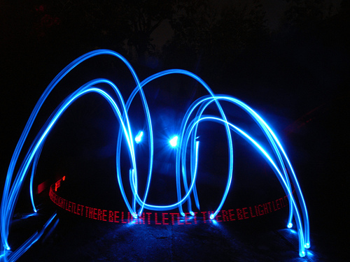 40+ Awesome Light Graffiti Pictures 20