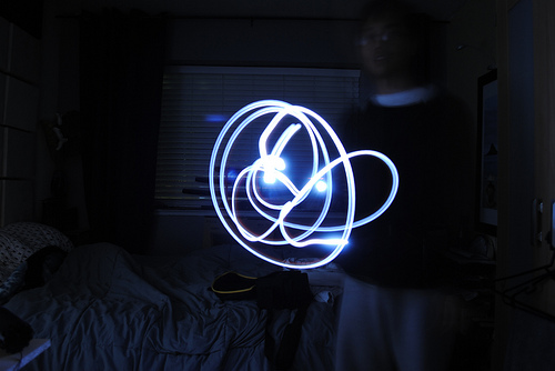 40+ Awesome Light Graffiti Pictures 33