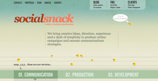 50+ Beautiful Single Page Website Designs For Your Inspiration 17