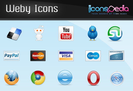 30 Fresh Free Icon Sets For Web Designers And Developers 10