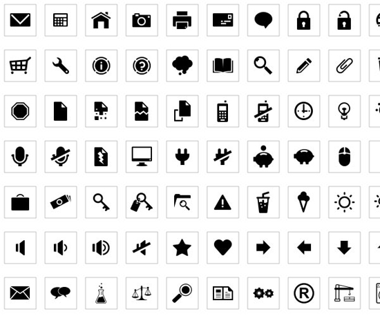 30 Fresh Free Icon Sets For Web Designers And Developers 1