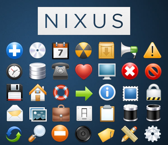 30 Fresh Free Icon Sets For Web Designers And Developers 2