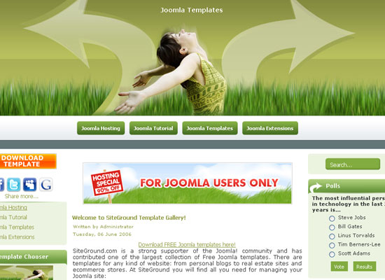 30 Free Joomla Website Themes Collection 3