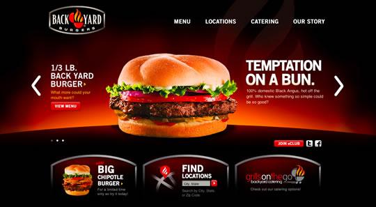 Showcase of Beautiful Restaurant Websites 10