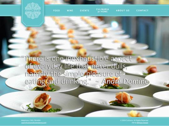 Showcase of Beautiful Restaurant Websites 14