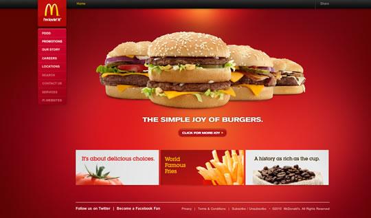 Showcase of Beautiful Restaurant Websites 24