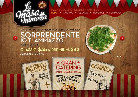 Showcase of Beautiful Restaurant Websites 27