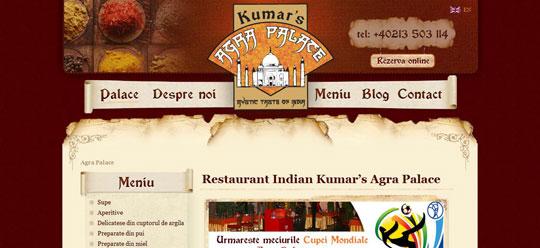 Showcase of Beautiful Restaurant Websites 32