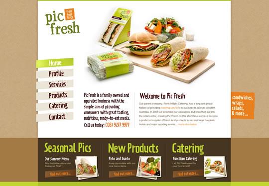 Showcase of Beautiful Restaurant Websites 40