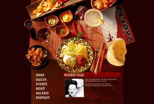 Showcase of Beautiful Restaurant Websites 8