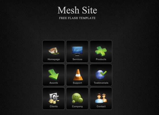 20 Free Flash Templates With Source File 2