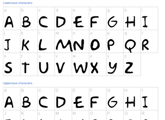 20+ Most Amazing Free Handwritten Fonts for Web designers 12