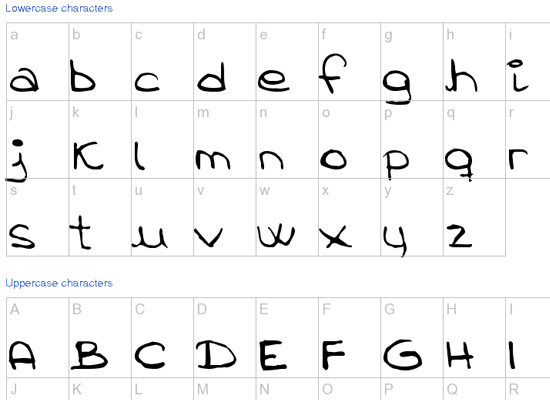 20+ Most Amazing Free Handwritten Fonts for Web designers 2