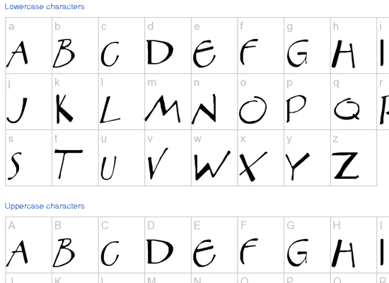20+ Most Amazing Free Handwritten Fonts for Web designers 20