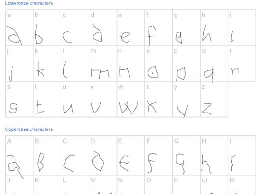 20+ Most Amazing Free Handwritten Fonts for Web designers 6