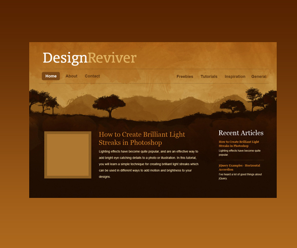 18 Amazing Photoshop Web Layout Design Tutorials 3
