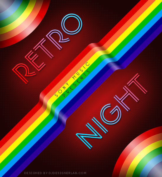 Create a Retro Music CD Cover with Photoshop and Illustrator 63