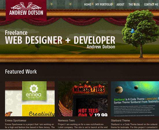 Fresh Beautiful and Inspirational Web Design Interfaces 1