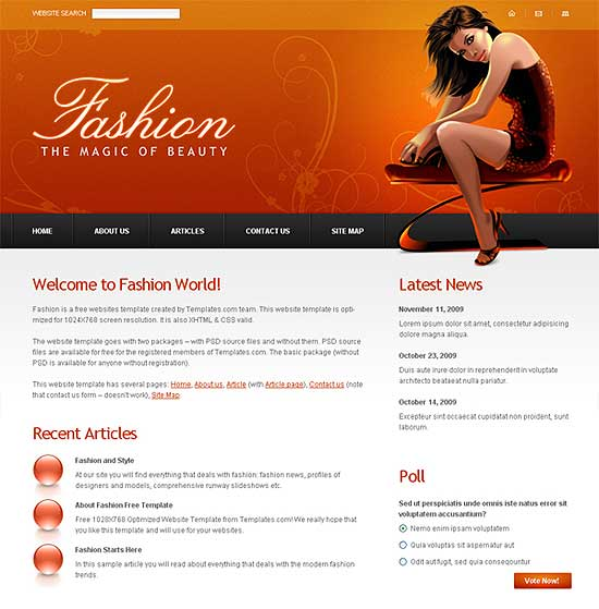 25 Fresh HTML/CSS Web Template for Free Download 12