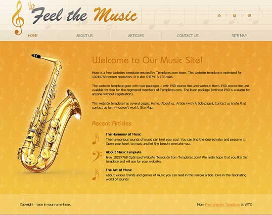 25 Fresh HTML/CSS Web Template for Free Download 4