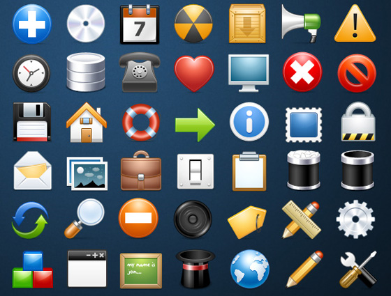 20 Beautiful Free Icon Sets for Designers 1