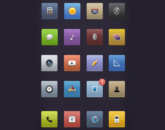 20 Beautiful Free Icon Sets for Designers 16