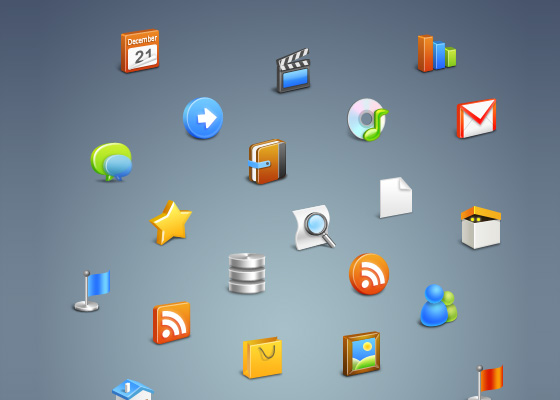 20 Beautiful Free Icon Sets for Designers 7