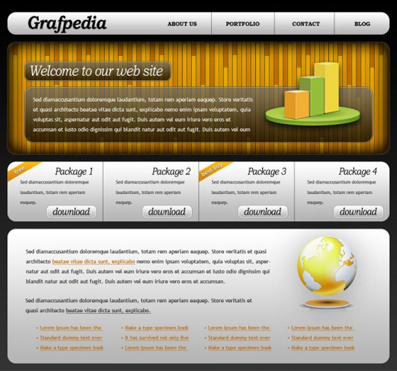 20 Most Useful Photoshop Tutorial to Create High Quality Web Design Layout 5