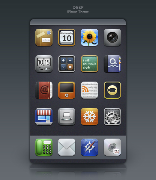 20 Free Amazing Icon Sets for Your iPhone 10