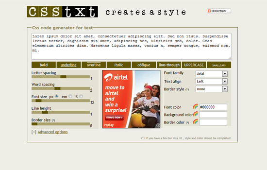 20 Useful Tools and Generators for Web Designers to Develop CSS 14
