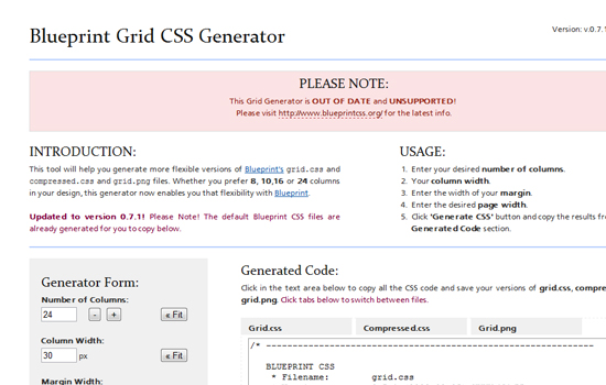 20 Useful Tools and Generators for Web Designers to Develop CSS 3